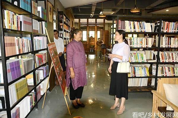 重庆市涪陵区文联党组书记、主席官俐琴到涪州书院调研